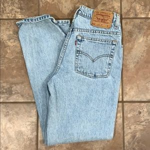 Vintage Levi high waisted mom jeans
